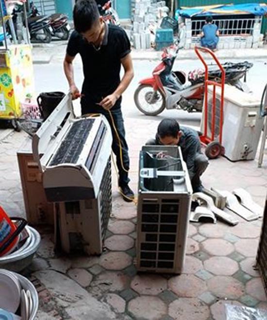 Sửa điều hòa tại Lê Văn Lương