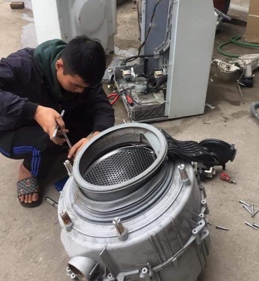 Sửa máy giặt tại Nghi Tàm, An Dương